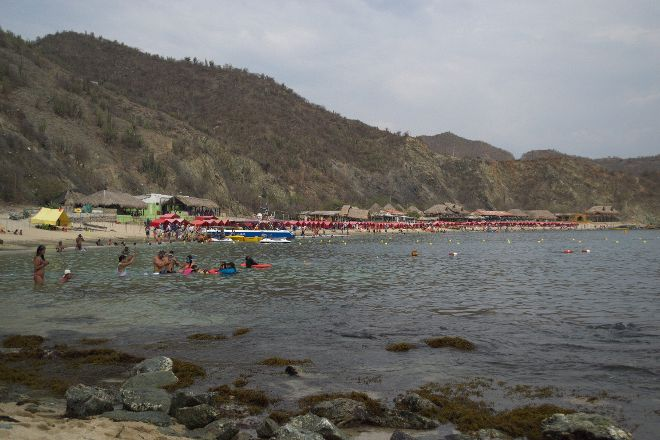 Playa Blanca, Santa Marta, Colombia