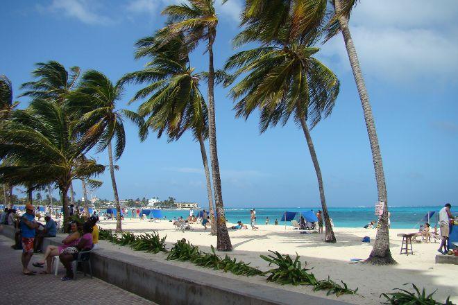Playa de Spratt Bight, San Andres Island, Colombia