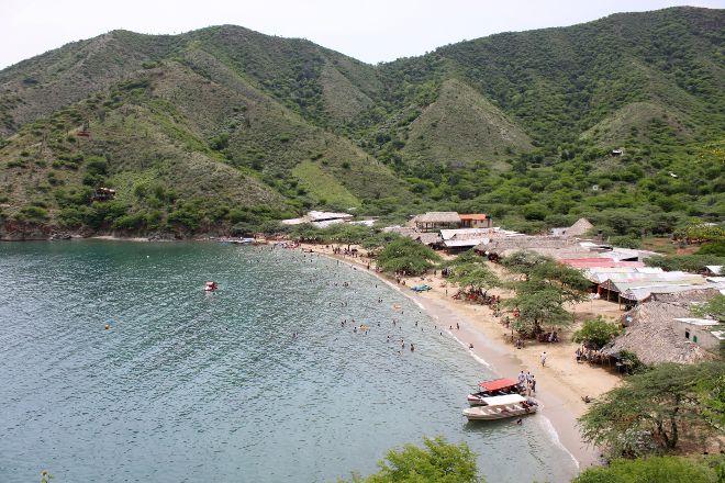 Playa Grande, Taganga, Colombia
