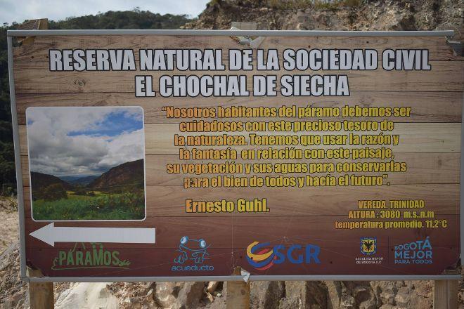 Reserva Natural El Chochal de Siecha, Guasca, Colombia
