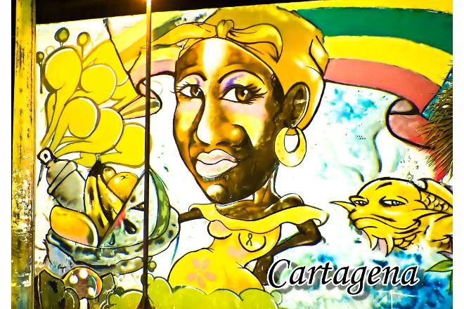 Streetart Cartagena, Cartagena, Colombia