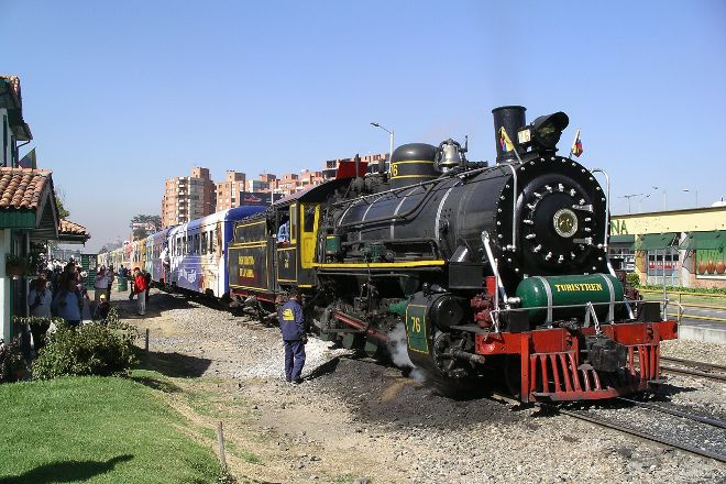 Tren Turistico de la Sabana, Bogota, Colombia