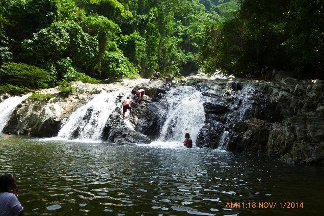 Valencia Brook's Waterfalls, Santa Marta, Colombia