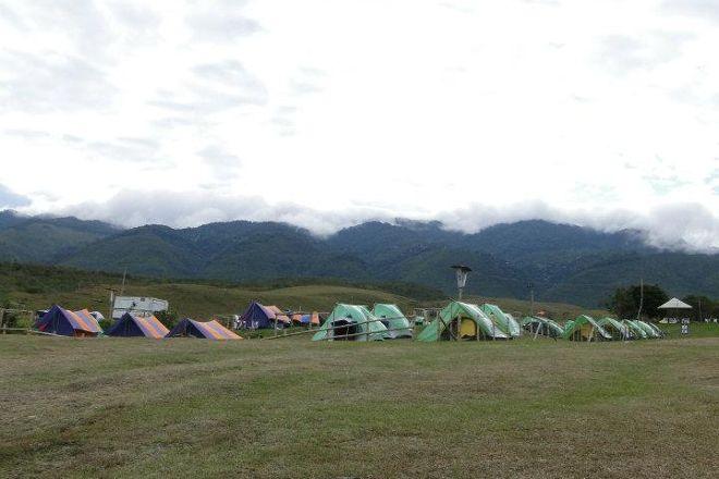 Zona de camping lago calima berlin, Calima, Colombia