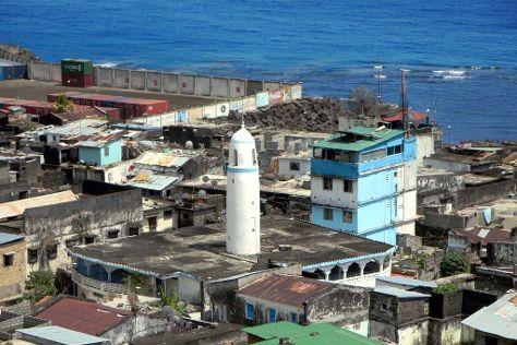 Mosquee du Vendredi, Moutsamoudou, Comoros