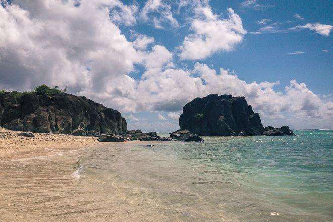 Black Rock Beach, Rarotonga, Cook Islands