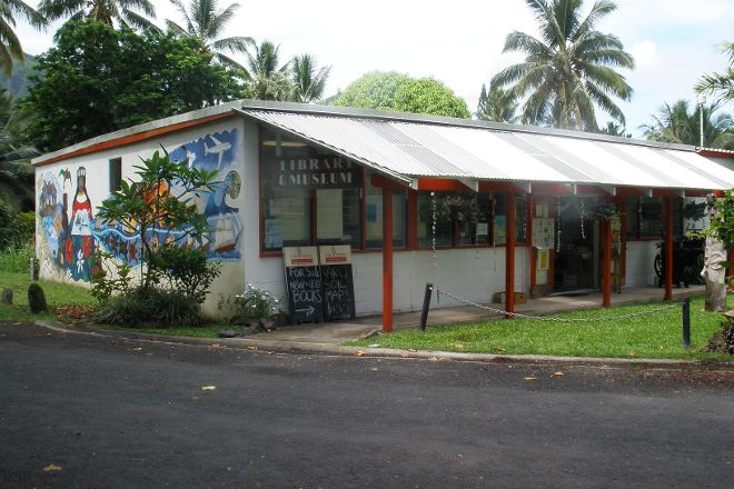 Cook Islands Library & Museum, Avarua, Cook Islands