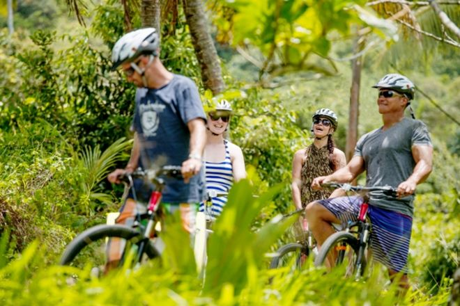Storytellers Eco Cycle Tours, Rarotonga, Cook Islands