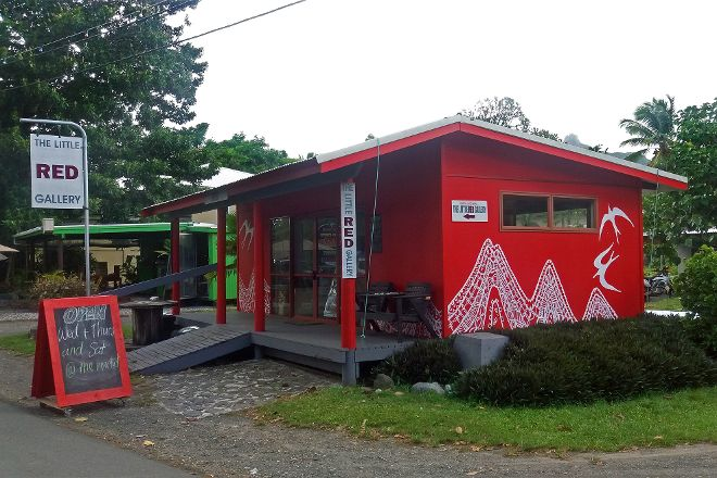 The Little Red Gallery, Avarua, Cook Islands