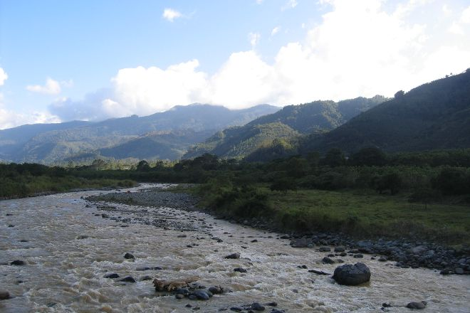 Orosi River Valley  ( El Valle del Rio Orosi ), Province of Cartago, Costa Rica