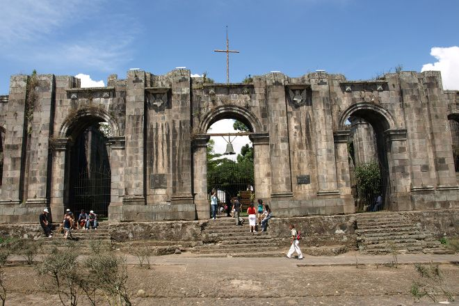 Ruins of the Church of Carthage, Cartago, Costa Rica