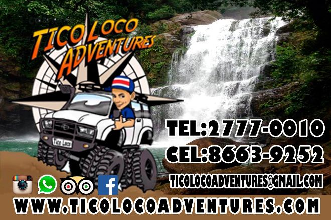 Tico Loco Adventures, Manuel Antonio, Costa Rica