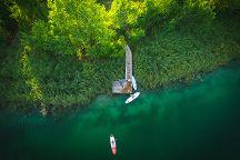 Paddle Surf Bacina Lakes, Ploce, Croatia