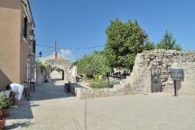 Stone Bridge and the Old Gate, Nin, Croatia