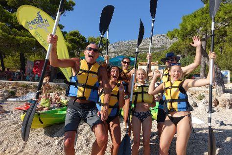 Kayak Brela, Brela, Croatia