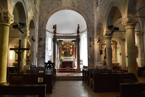 St. Mark's Cathedral, Korcula Town, Croatia