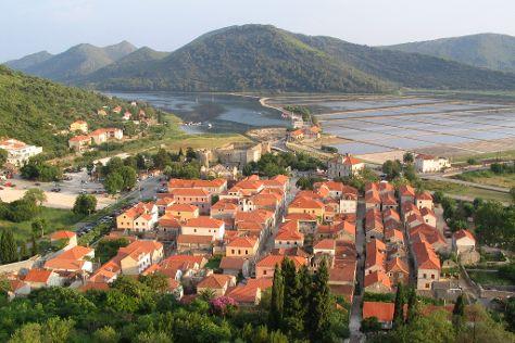 Ston Old Town, Ston, Croatia