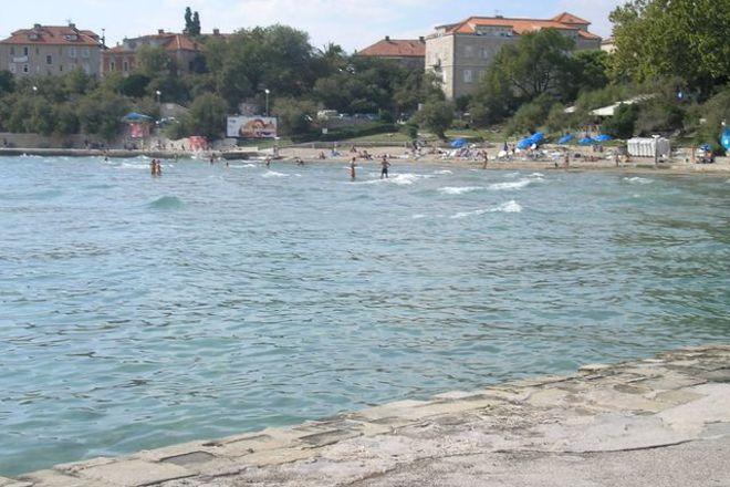 Bacvice Beach, Split, Croatia