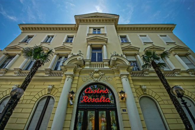 Casino Rosalija, Opatija, Croatia