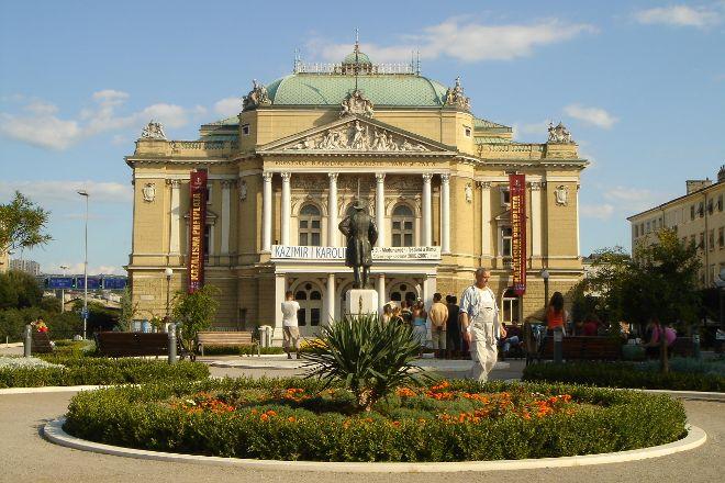 Croatian National Theatre Ivan pl. Zajc, Rijeka, Croatia
