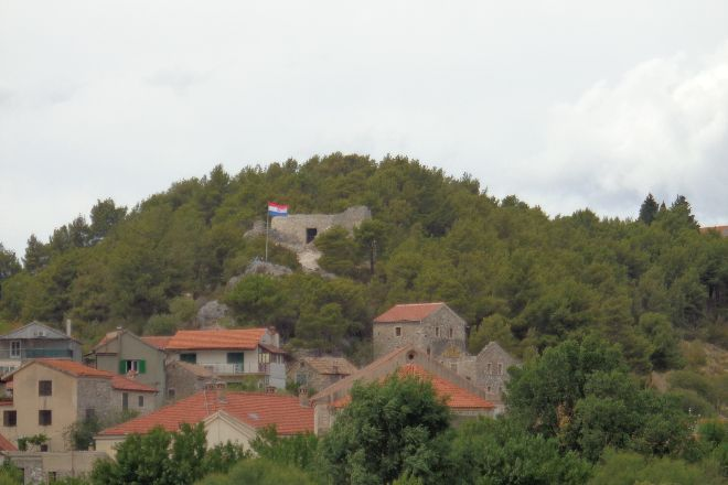 Fortress of Turina, Skradin, Croatia