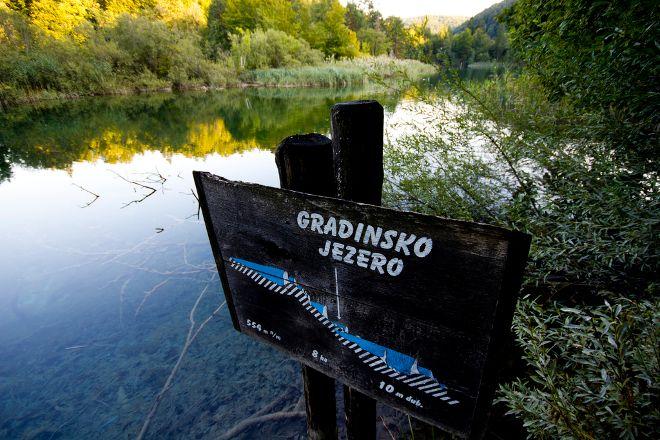 Gradinsko Lake, Plitvice Lakes National Park, Croatia