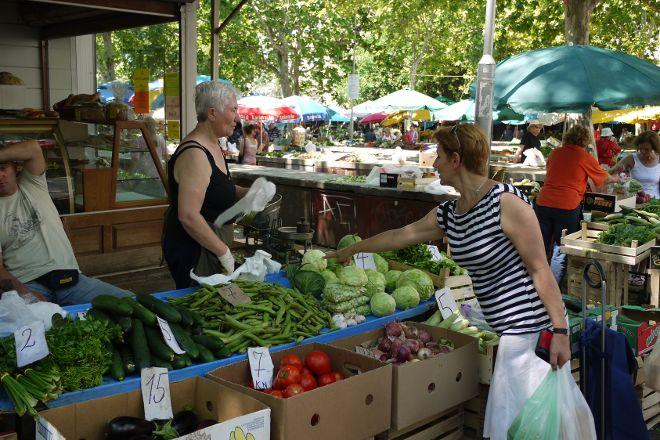 Split Market, Split, Croatia
