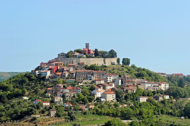 Hilltop Walled Ancient City of Motovun, Motovun, Croatia