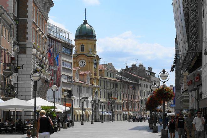 Korzo, Rijeka, Croatia