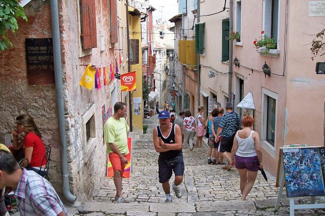 Main Street, Rovinj, Croatia