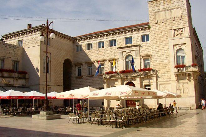 Narodni trg u Zadru, Zadar, Croatia
