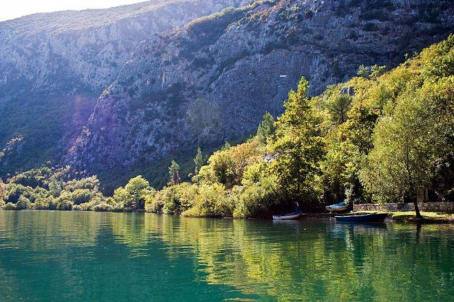 Omis Cetina Canyon, Omis, Croatia