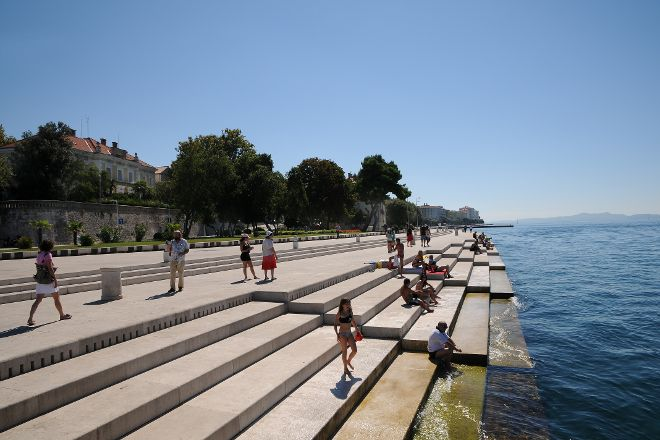 Sea Organ (Morske Orgulje), Zadar, Croatia