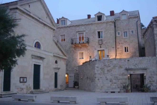 Stone, Pucisce, Croatia