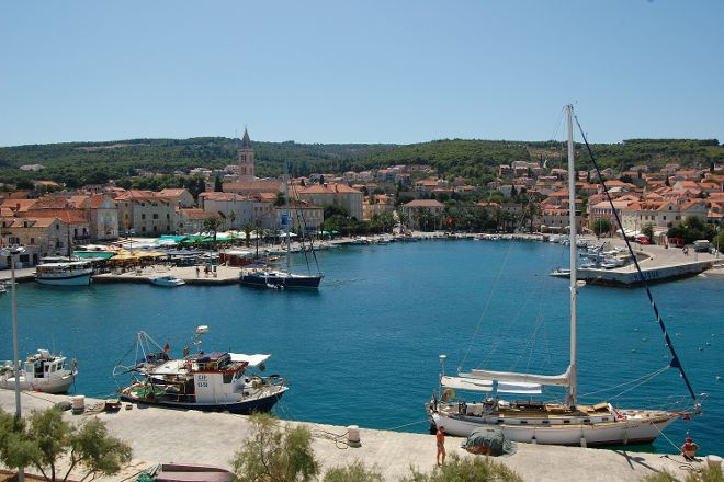 Supetar Bay, Supetar, Croatia