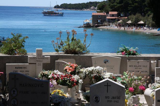 Supetar cemetery, Supetar, Croatia
