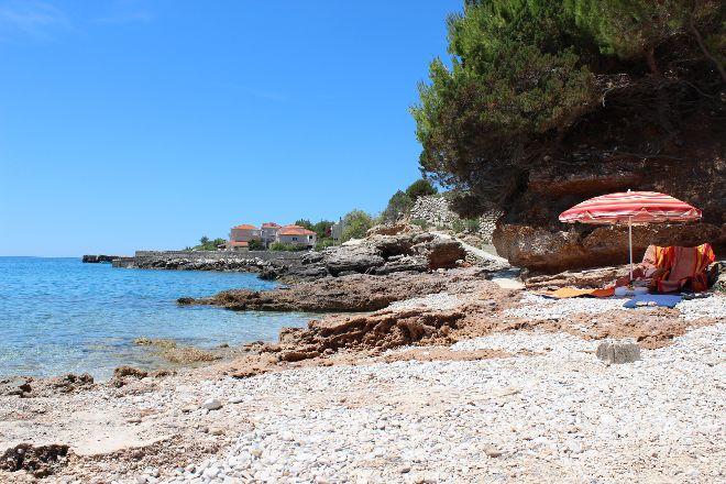 Zavala Beach, Zavala, Croatia