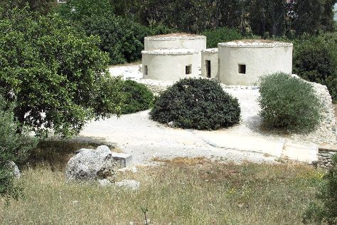 Choirokoitia Neolithic Settlement, Choirokoitia, Cyprus
