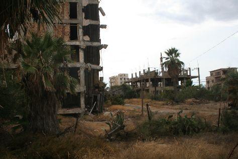 Ghost Town Varosha, Famagusta, Cyprus