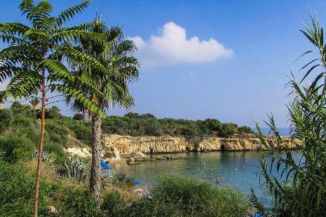 Kapparris Beach, Paralimni, Cyprus