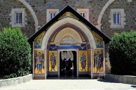 Painted Churches in the Troodos Region, Limassol, Cyprus