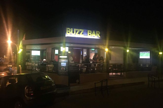 Buzz Bar (formerly George and Dragon), Paphos, Cyprus