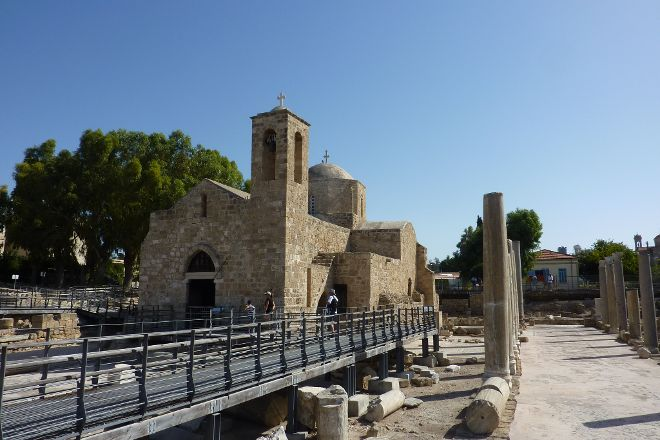 Church of Agia Kyriaki and post St. Paul, Paphos, Cyprus