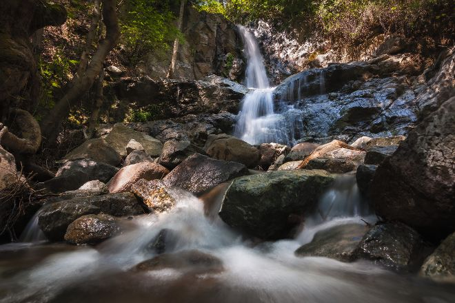 Mesa Potamos Waterfalls, Platres, Cyprus