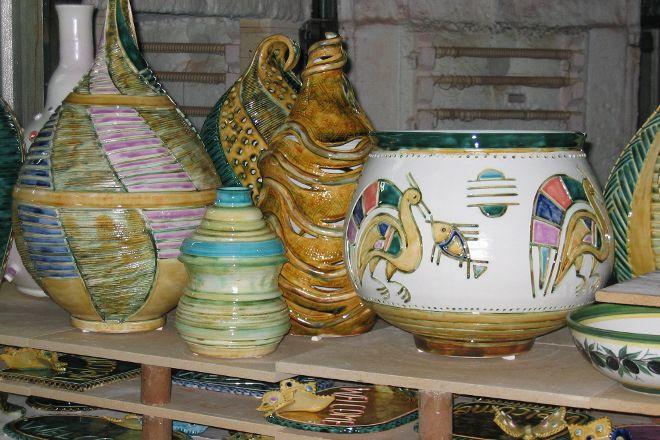 Savvas Pottery, Koloni, Cyprus