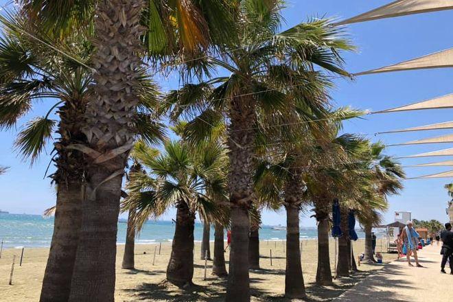 Yiannades Beach, Oroklini, Cyprus