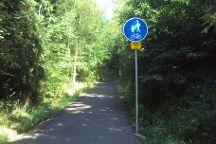 Cyklostezka Varhany, Ceska Lipa, Czech Republic