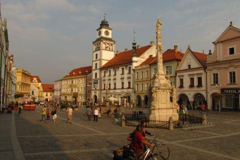 Marian Column, Trebon, Czech Republic