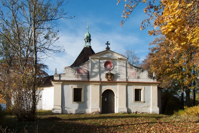 Chapel of the Exaltation of the Holy Cross, Cesky Krumlov, Czech Republic