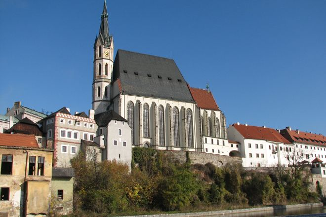 Church of St. Vitus, Cesky Krumlov, Czech Republic